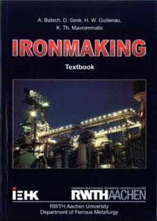 "Bookcover ""Ironmaking"""
